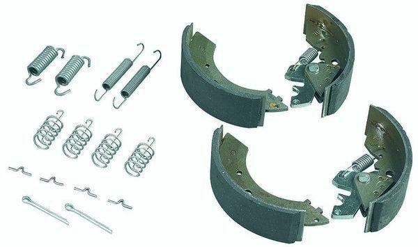 2 Mâchoires de frein pour essieux RTN 160 RA2
