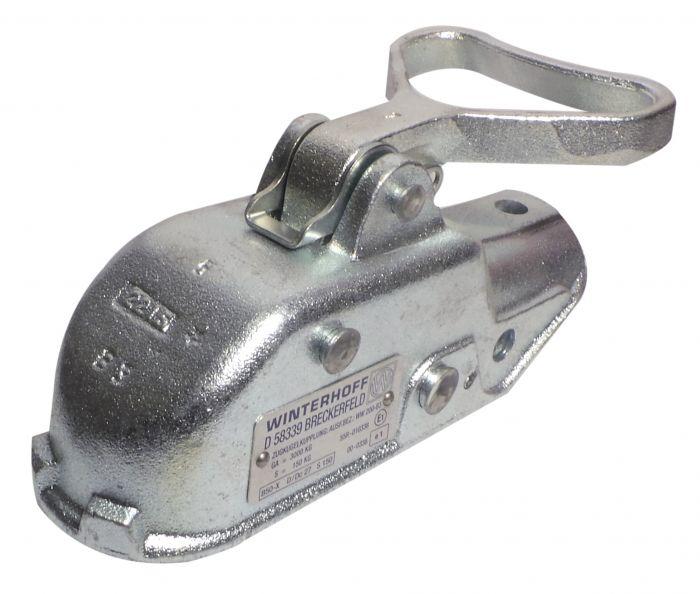 Boitier d'attelage pour tube rond 45mm - 3000kg