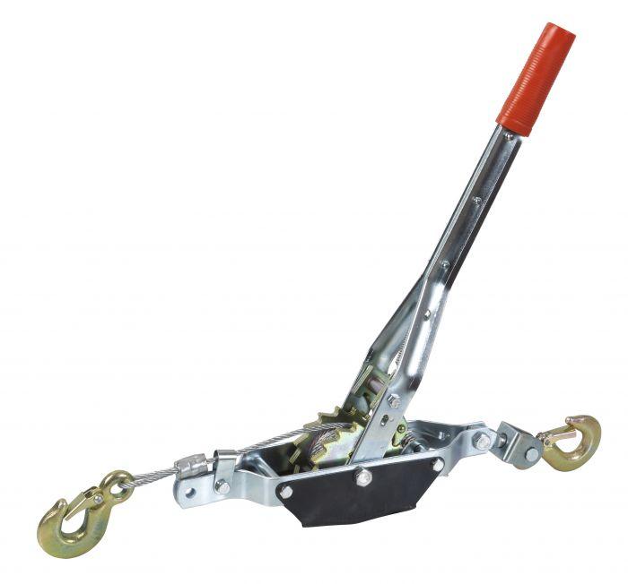 Treuil manuel portable - 800kg - Avec câble