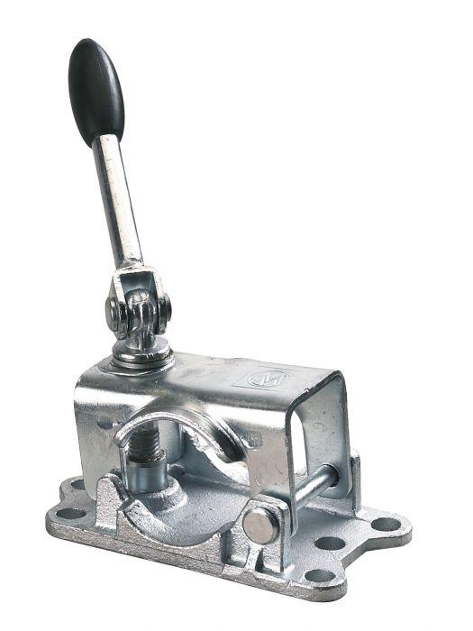 Collier de serrage pour roue jockey 48 - Fixation 4 trous