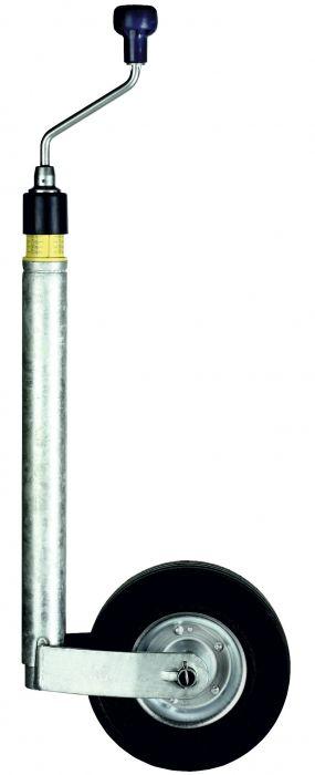 Roue Jockey 48 - Roue plastique 225 x 85 - Affichage de charge