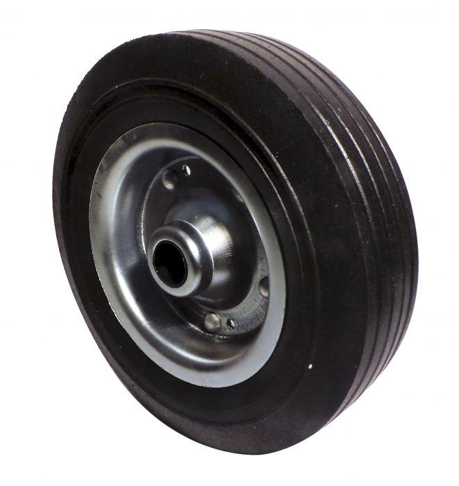 Galet de roue jockey - Métal - Diamètre 200 mm