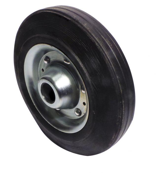 Galet de roue jockey - Métal - Diamètre 160mm