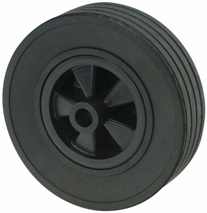 Galet de roue jockey - Plastique - Diamètre 220mm