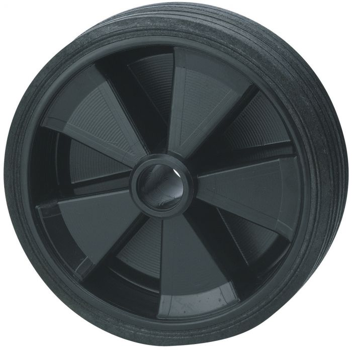Galet de roue jockey - Plastique - Diamètre 160mm