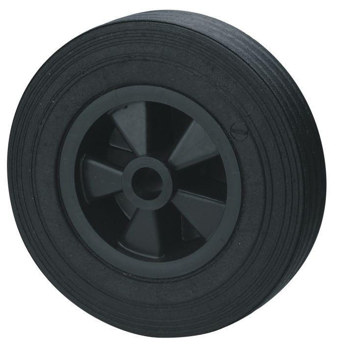 Galet de roue jockey - Plastique - Diamètre 200mm