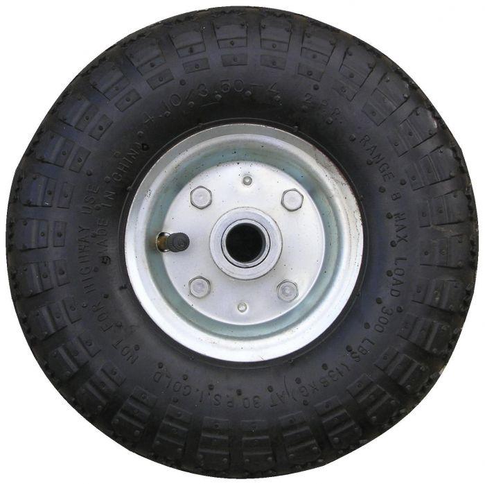 Galet de roue jockey gonflable - Métal - Diamètre 260mm