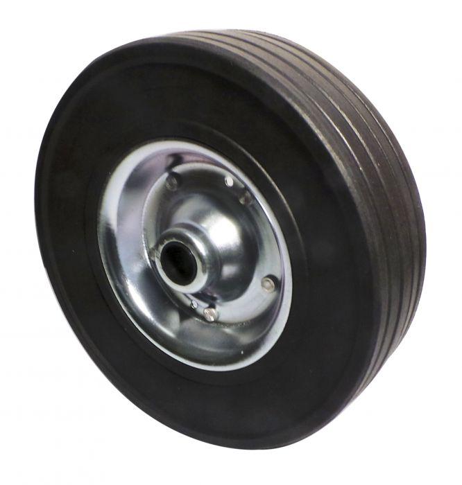 Galet de roue jockey - Métal - Diamètre 225mm