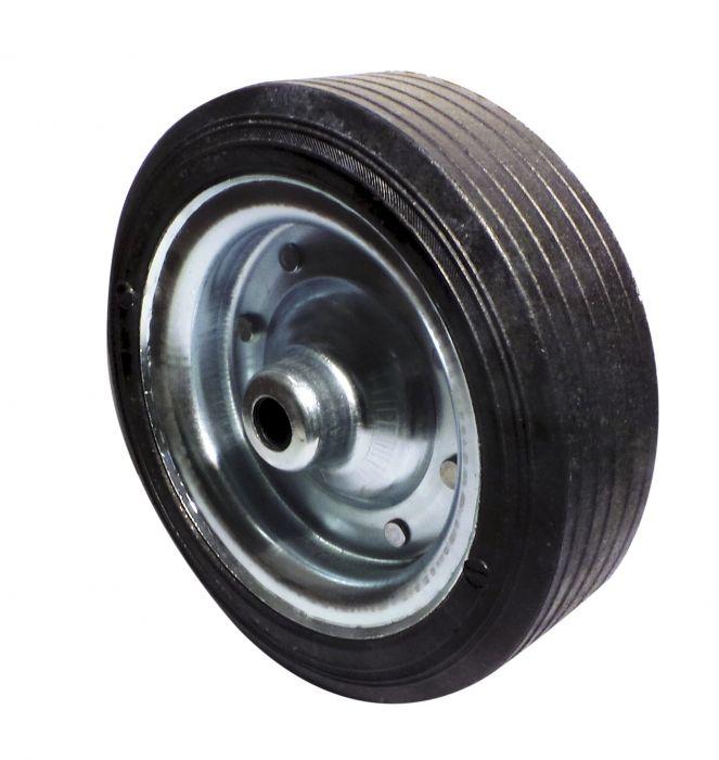 Galet de roue jockey - Métal - Diamètre 255mm