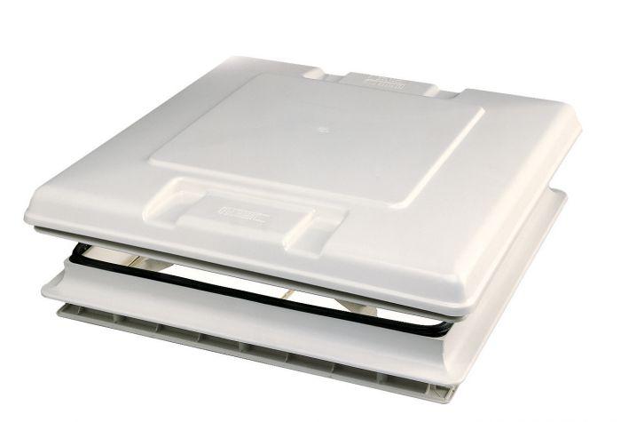 Lanternau Blanc - 500 x 500 - Avec moustiquaire
