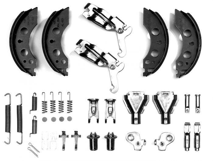 2 Mâchoires de frein pour essieux ALKO 2050/2051