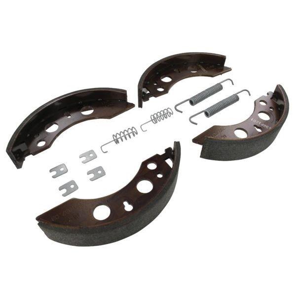 2 Mâchoires de frein avec ressorts pour essieux ALKO 2035