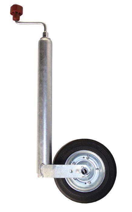 Roue Jockey compact ALKO Ø 48 - Galet acier Ø 200x50 mm
