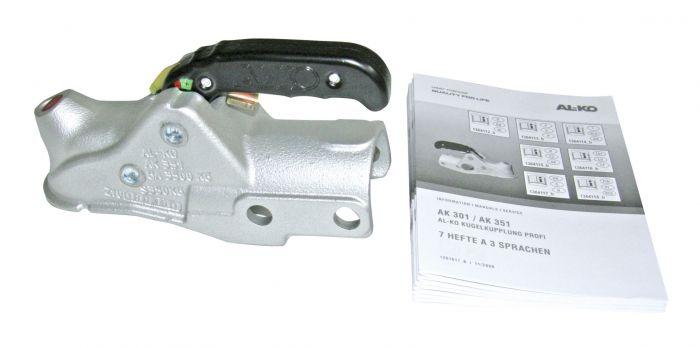 Boitier d'attelage pour tube rond 60mm  - ALKO AK351