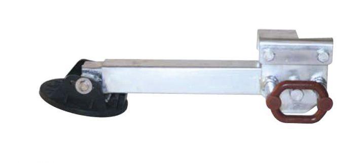 Béquille AL-KO tube carré basculable 500 kg - Hauteur 230 + 510