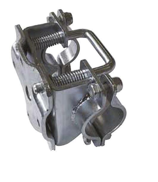 Collier de serrage pour roue jockey 48 - Basculant