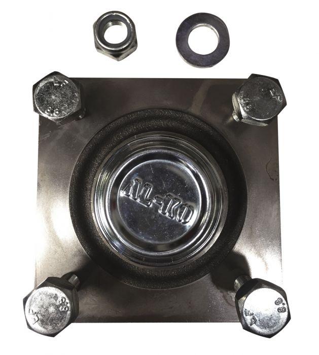 Moyeu complet ALKO - 4 trous entraxe 115 - No brut 630287