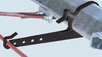 Supports pour cables d'essieux Ø 97 mm AL-KO sachet de 10