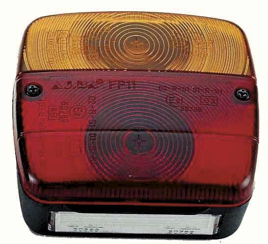 Feu Arrière avec Eclaireur de plaque - AJBA 3440