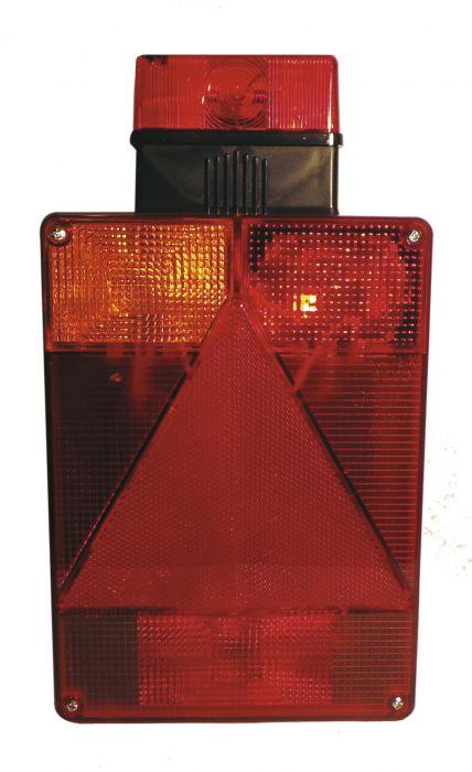 Feu Arrière Gauche Vertical - Avec feu de gabarit - RADEX 6800 - Réf 3448A