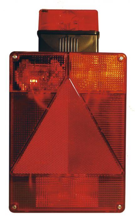 Feu Arrière Droit Vertical - Avec feu de gabarit - RADEX 6800 - Réf 3449A