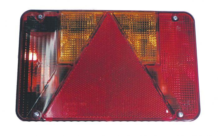 Cabochon Feu Arrière Gauche - RADEX 5800 - Réf 3471/3495/100912