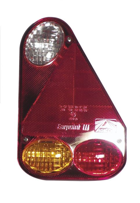 Feu arrière droit vertical avec feu de recul - Earpoint III - Aspock 5137