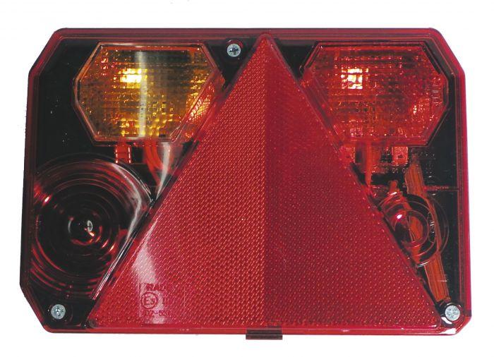 Cabochon feu arrière gauche sans feu de recul - Radex 6400 5140/5162