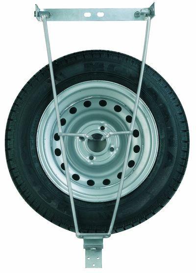 Support roue de secours universel - Fixation sous châssis