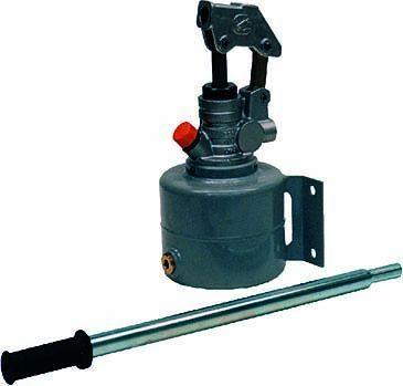 Pompe hydraulique manuelle acier - 4 litres