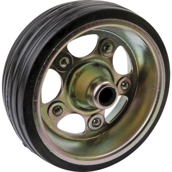 Galet de roue jockey - Métal - Diamètre 230mm