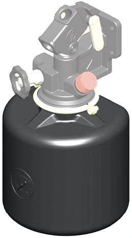 Réservoir de rechange plastique CHAPEL - 4 litres