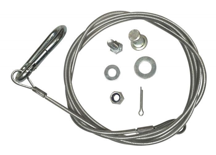 Câble de rupture 1850mm - Avec mousqueton