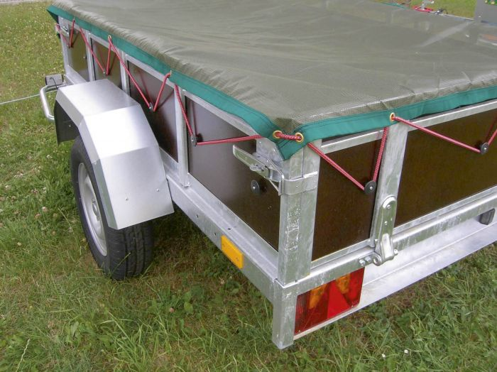 Filet fin de protection remorque - 350 x 180cm