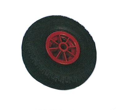 Galet de roue jockey gonflable - Plastique - Diamètre 260mm