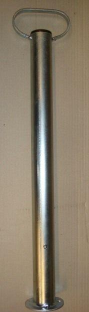 Béquille tube rond 48mm - Hauteur 70cm