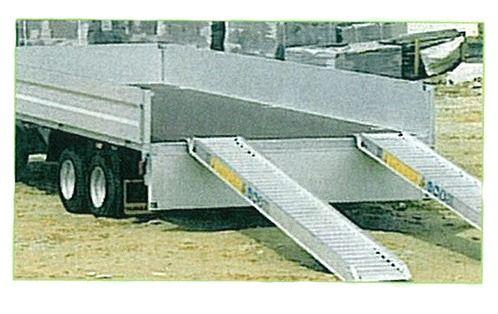 Rampes Aluminium renforcé - 3.5 mètres - 3900kg