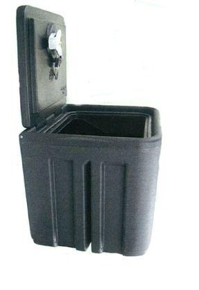 Coffre de rangement - Polyéthylène - 1000 x 490 x 500