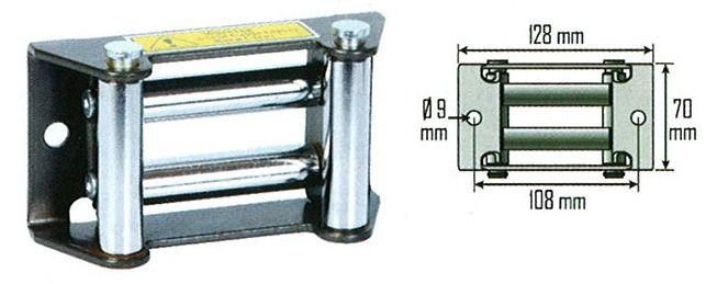 Guide câble pour treuil