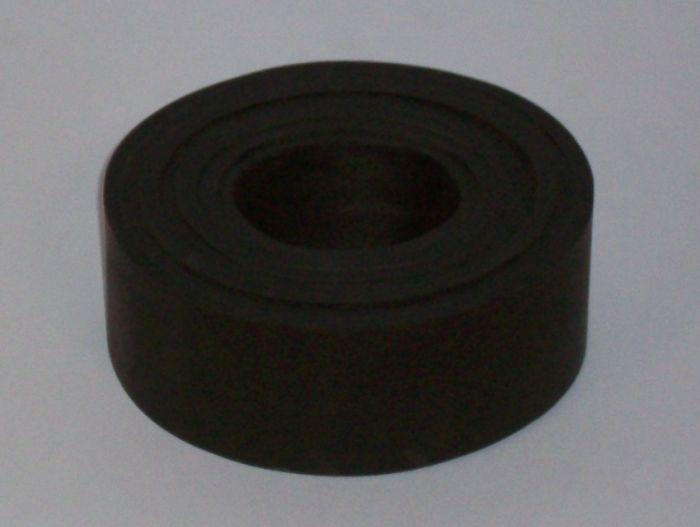 Bloc 7 anneaux de suspension remorque - Caoutchouc - Largeur 50mm
