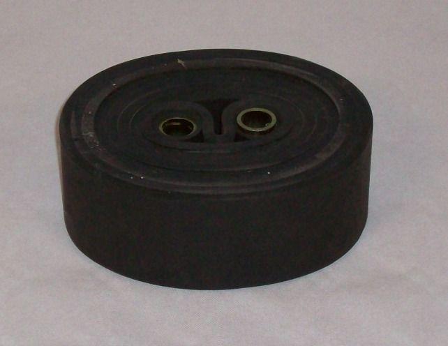 Bloc 8 anneaux de suspension remorque - Caoutchouc - Largeur 50mm