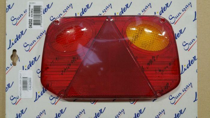 Cabochon de feu arrière droit - RADEX 2800
