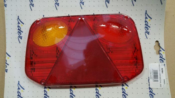 Cabochon de feu arrière gauche - RADEX 2800