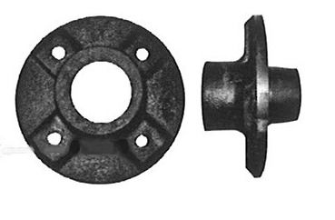 Moyeu complet ALKO - 4 trous entraxe 100 - No brut 1311409