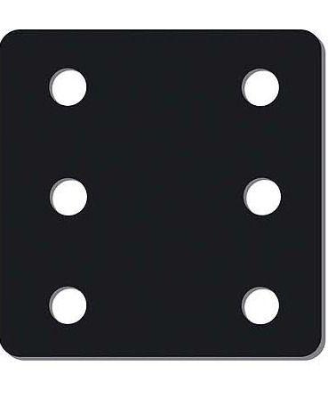 Plaque de réhausse - 6 trous