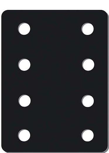Plaque de réhausse - 8 trous