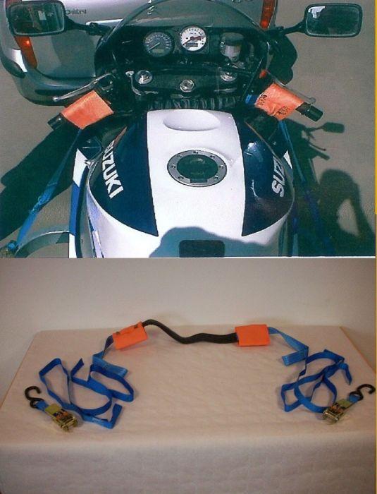 Sangle spéciale moto - 2 cliquets