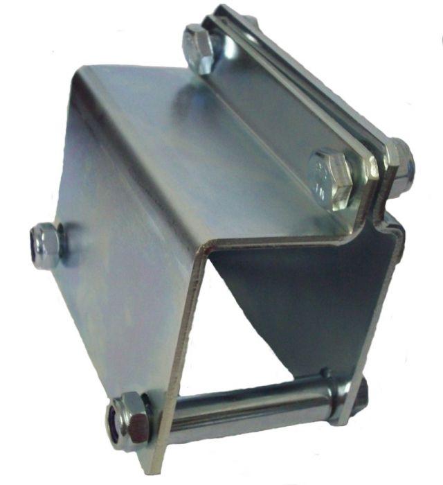 Support de collier pour roue jockey - Pour timon droit 40-50-60 mm