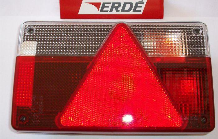 Feu arrière droit pour remorque ERDE - AJBA FP80 - 162 à 237x4 237F