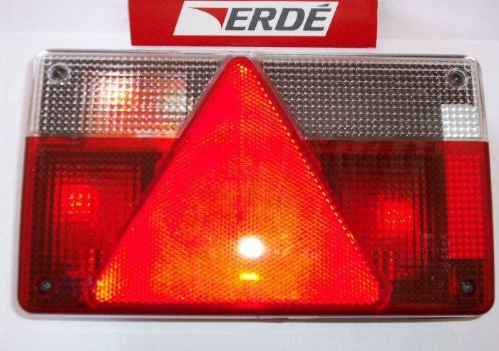 Feu arrière gauche pour remorque ERDE - AJBA FP80 - 162 à 237x4 237F